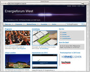 Screenshot - www.energieforum-west.de