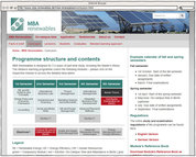 Screenshot - MBA Renewables - Curriculum