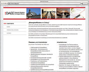 Screenshot - www.daee.de