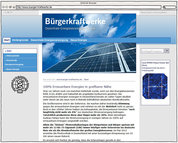 Screenshot - www.buerger-kraftwerke.de